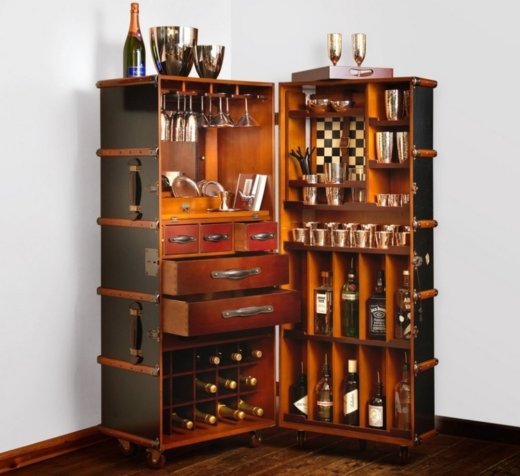 robbe berking martele bar trunk. Black Bedroom Furniture Sets. Home Design Ideas