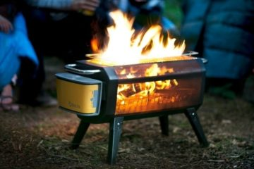 BioLite FirePit Uses A Fan To Optimize Combustion And Minimize Smoke