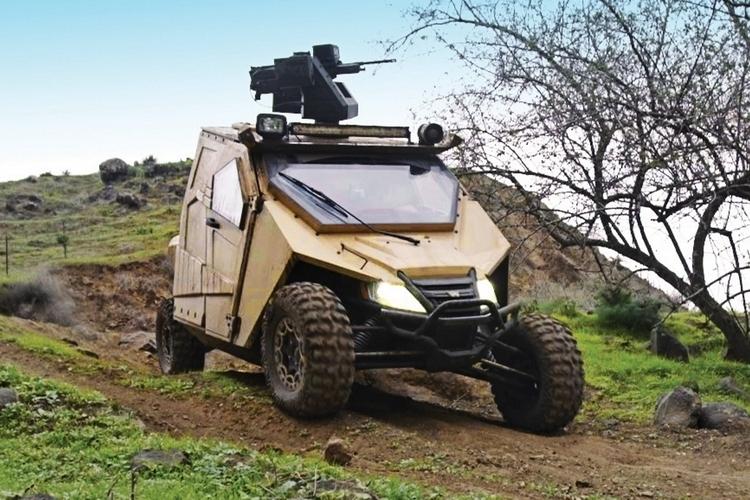 Side By Side Atv >> Plasan Yagu Armored UTV