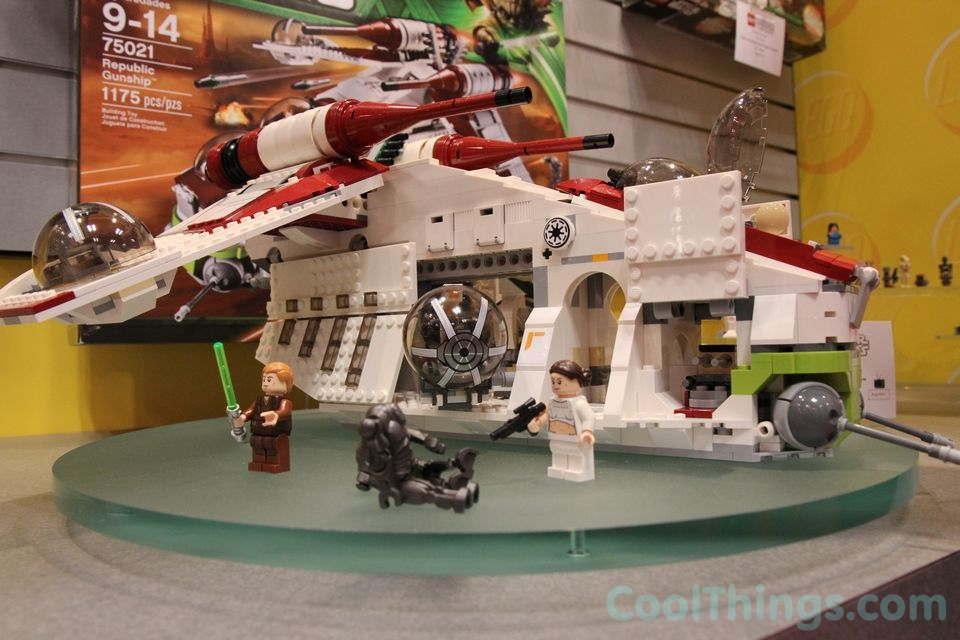 Lego Star Wars Republic Gunship 75021 Pics