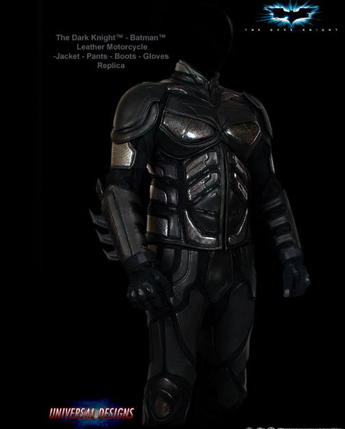 & Dark Knight Motorcycle Suit: Now You Really Can Look Like Batman