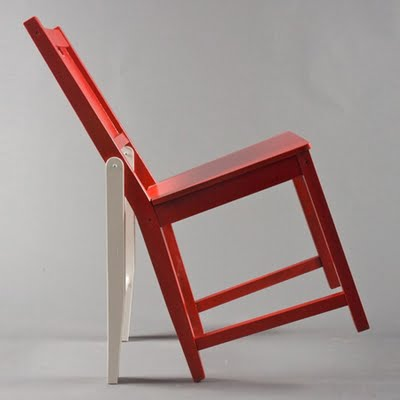 Sit like you mean it with the Attitude Chair which lets you lean back like the cockiest douchebag in town. & Attitude Chair Lets You Sit As Cocky As You Want Without Falling Over