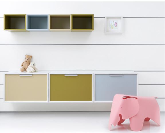 Storage Accessories Are Available In Numerous Sizes And 15 Diffe Finishes 13 Colors Two Wood Veneers Additional Niceties Include Fabric Clad