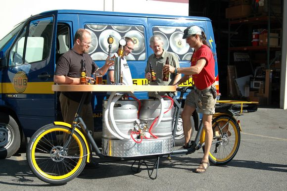 Cargo Bike Abuse: A Bar, A Pizzeria And A Dance Club In One Pedal Pusher