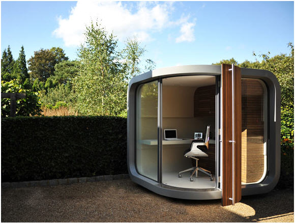 Add A Functional Office In Your Backyard With The Officepod Self Contained Worke That Can Be Delivered And Installed Anywhere You Have Room