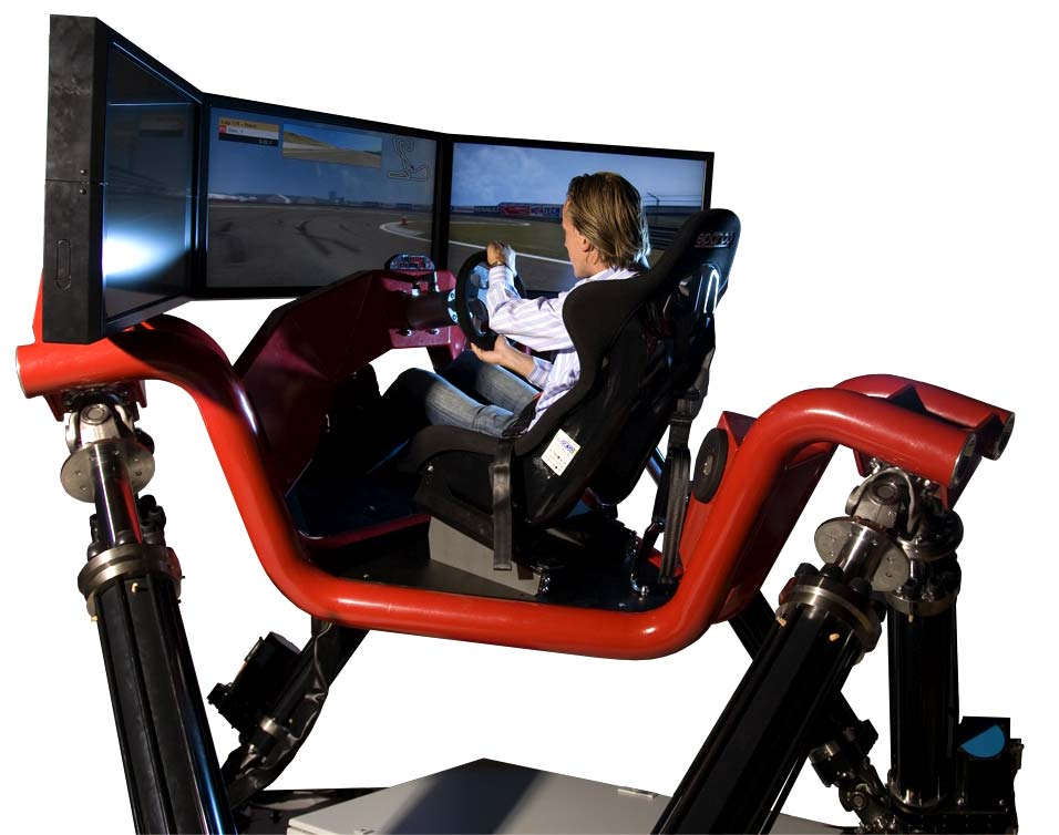 The Cruden Hexatech Could Be The Ultimate Racing Simulator