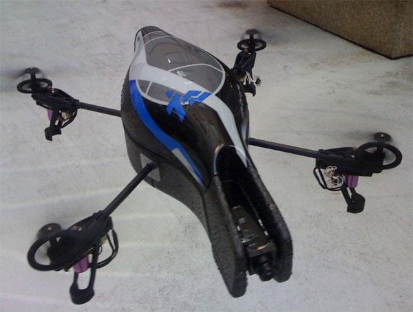 Drone Parrot Bebop 2 Blanc + Skycontroller - RadarToulouse.fr pas cher