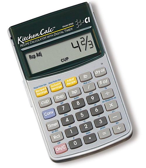 kitchencalc makes the standalone calculator useful again