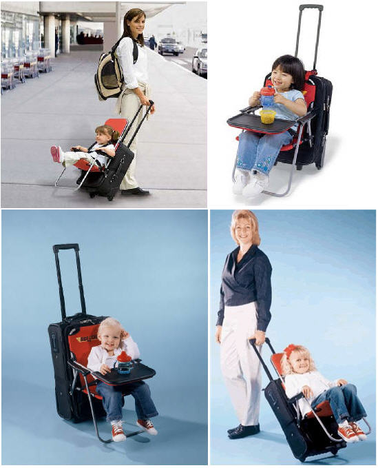 sc 1 st  CoolThings.com & Ride On Carry On Adds A Baby Chair To Your Luggage