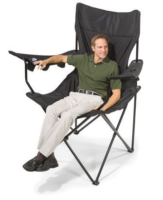 Ordinaire Doesnu0027t Matter What Your Wife Thinks When Youu0027re The One Sitting On The  Brobdingnagian Sports Chair, A Ridiculously Huge Folding Chair Fit For A  King.