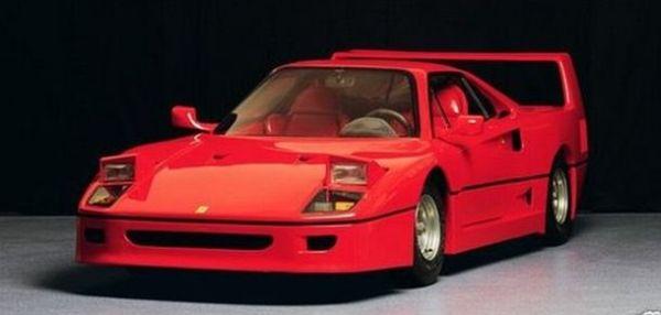 A One Off Kid Sized 1992 Ferrari F40 Goes On Sale