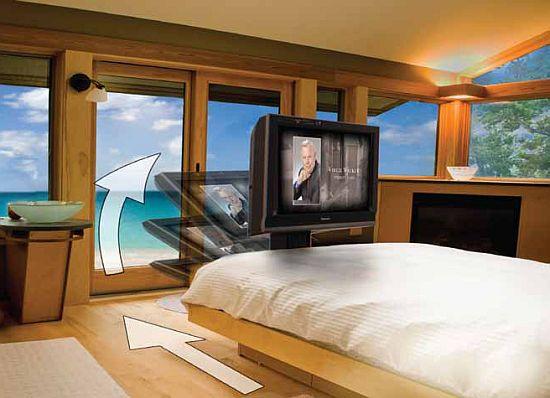 Auton Dream Machine Hides Your Tv Under The Bed