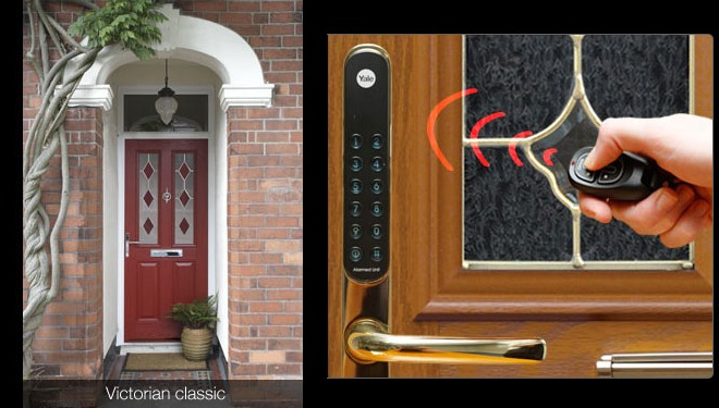 Yale Keyfree Door Lock Opens Your Front Door Like A Car
