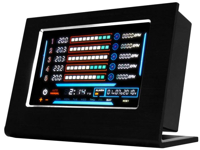 Nzxt Sentry Lxe Puts A Futuristic Looking Cpu Temperature