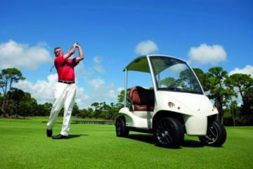 on golf course transport cart bluetooth remote