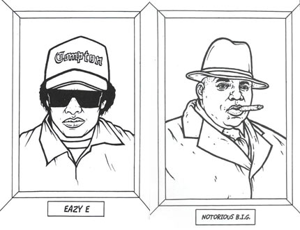 Bust Out The Rhymes And Crayons With The Gangsta Rap Coloring Book