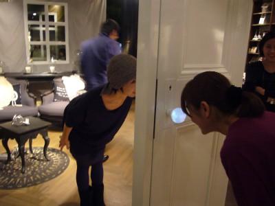 Glass Globe Door Knob Lets You See What S Behind The Door