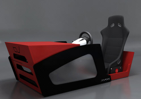 Charmant Race Star ConverTTable Arcade Racing Cabinet Folds Up Into A Stylish Table
