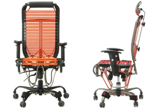 Not Enough Distractions At The Office Add Getting Fit Into Mix Of Productivity S With Gymgym An Executive Chair That Doubles As A