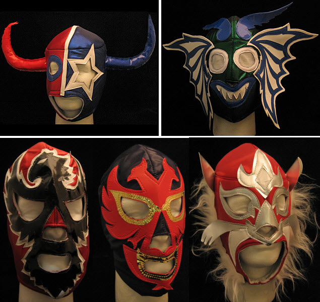 Want to dress up like your favorite Luchadore but donu0027t know where to get those colorful Mexican head gear? Look no further than this Lucha Libre Mask ... & Roll Like A Luchadore With These Lucha Libre Masks