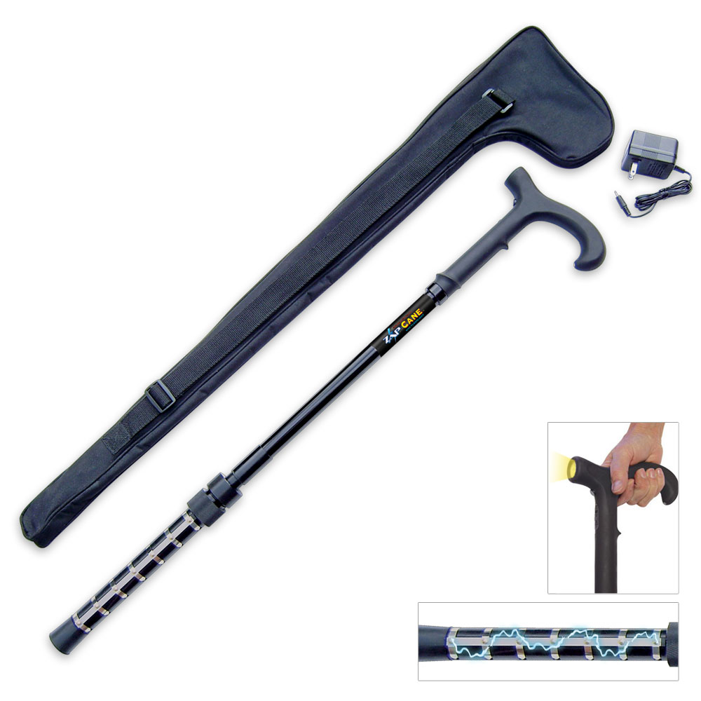 Zap Cane Puts A Taser On Your Walking Stick