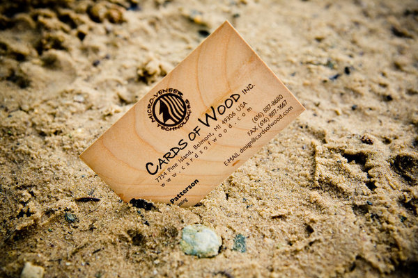 Cards of wood prints business cards and more on micro veneers so why not get rid of the middleman and print everything on the wood itself we dont know if thats a good idea but thats what cards reheart Images