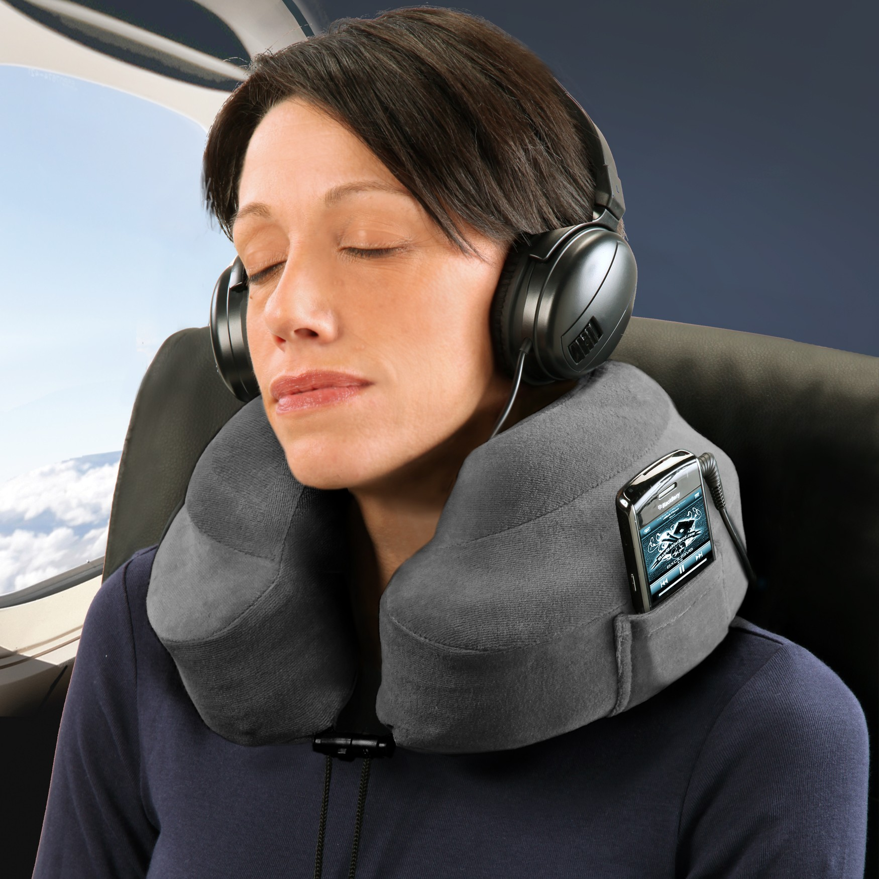 in fact i have an inflatable one i strangle my neck with whenever im going in passenger mode for an extended amount of time the evolution pillow - Evolution Pillow