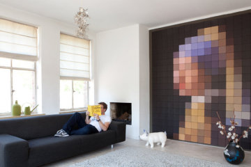 Put Some Pixels Up Your Wall With Ii S Sheet Displays