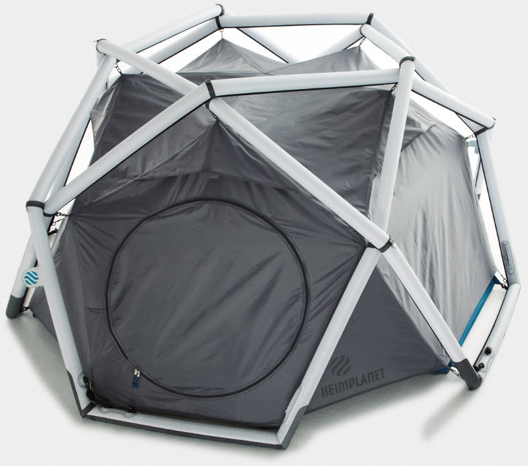 Cave Tent Is An Inflatable Outdoor Shelter