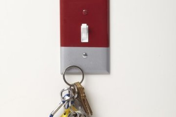 Magnetic Switch Cover Lets You Stick Your Keys Right By The Door