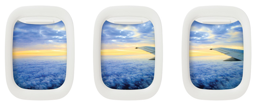 Airframe Holds Your Photos In An Airplane Window