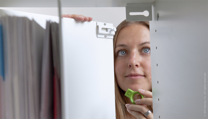 Covert Is A Hidden Universal Lock For Drawers And Cabinet Doors