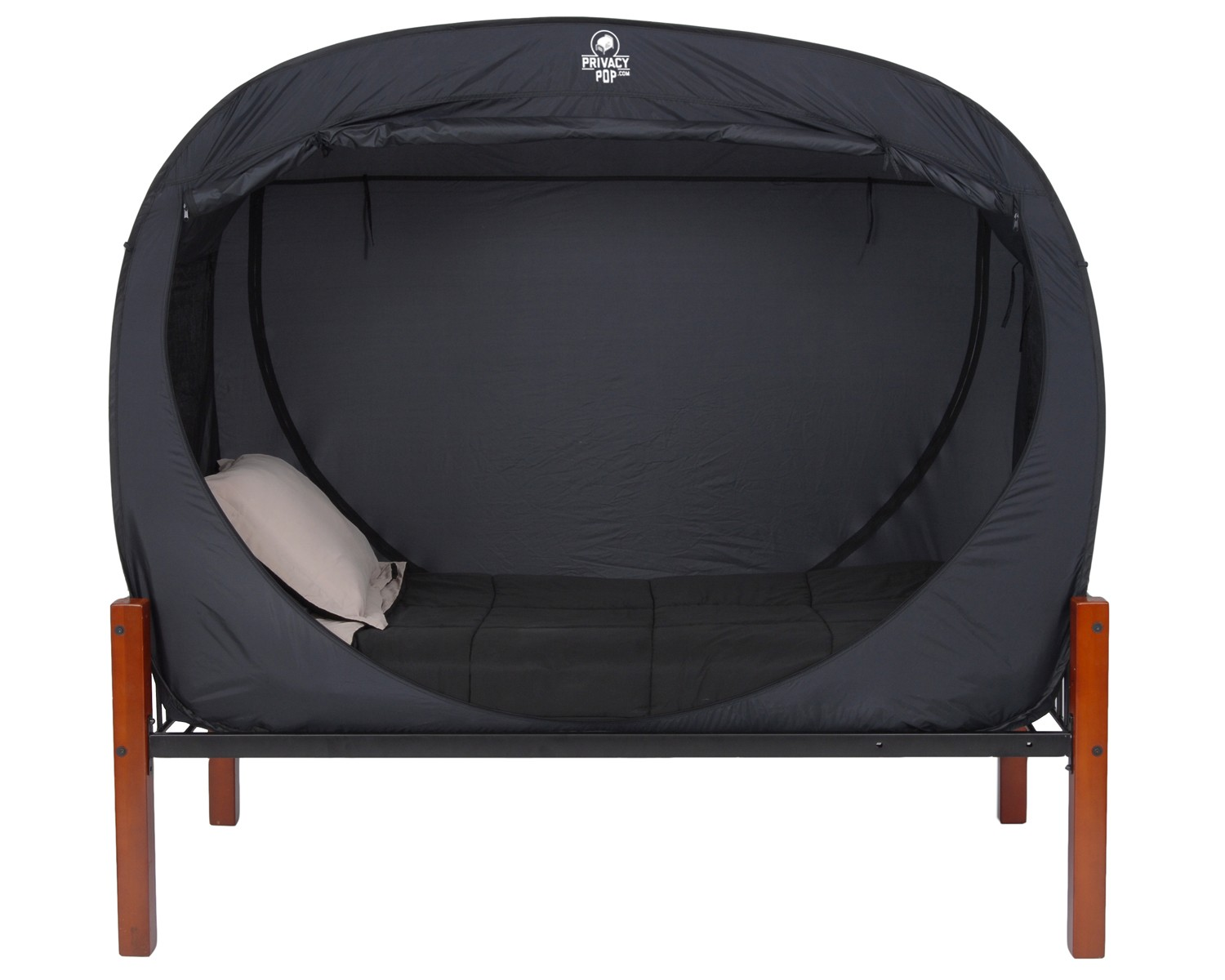 Outdoor Bed With Canopy Privacy Pop Is A Tent For Your Bed