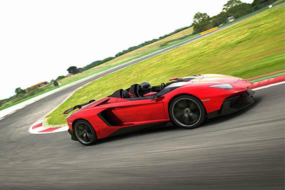 Lamborghini Aventador J No Roof No Windshield No Problem
