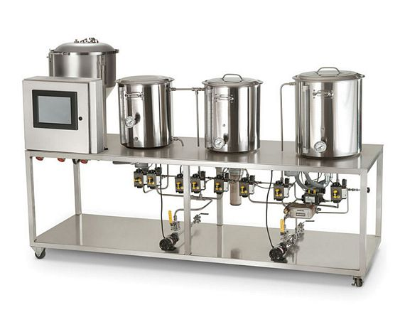 A Professional Microbrewery For The Rich