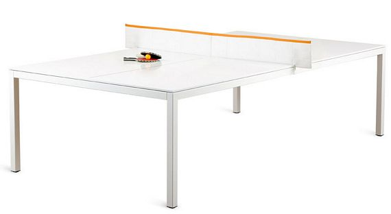 Ping Pong Conference Table Have A Meeting Play A Game - Table tennis conference table