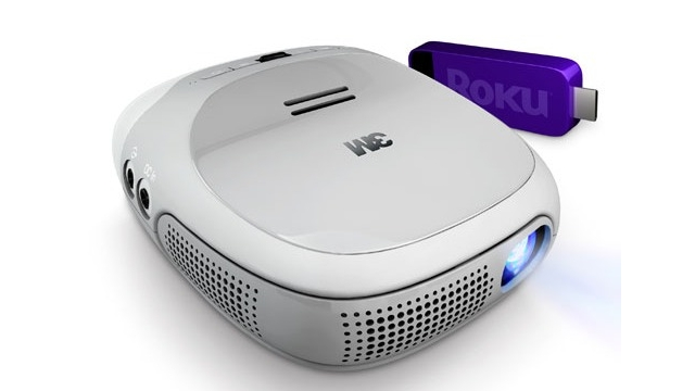 3m Streaming Projector Brings Roku To Your Walls
