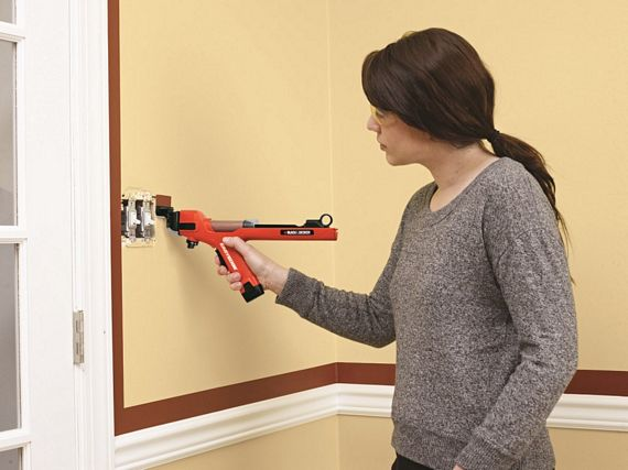 Paint Wall With An Edger