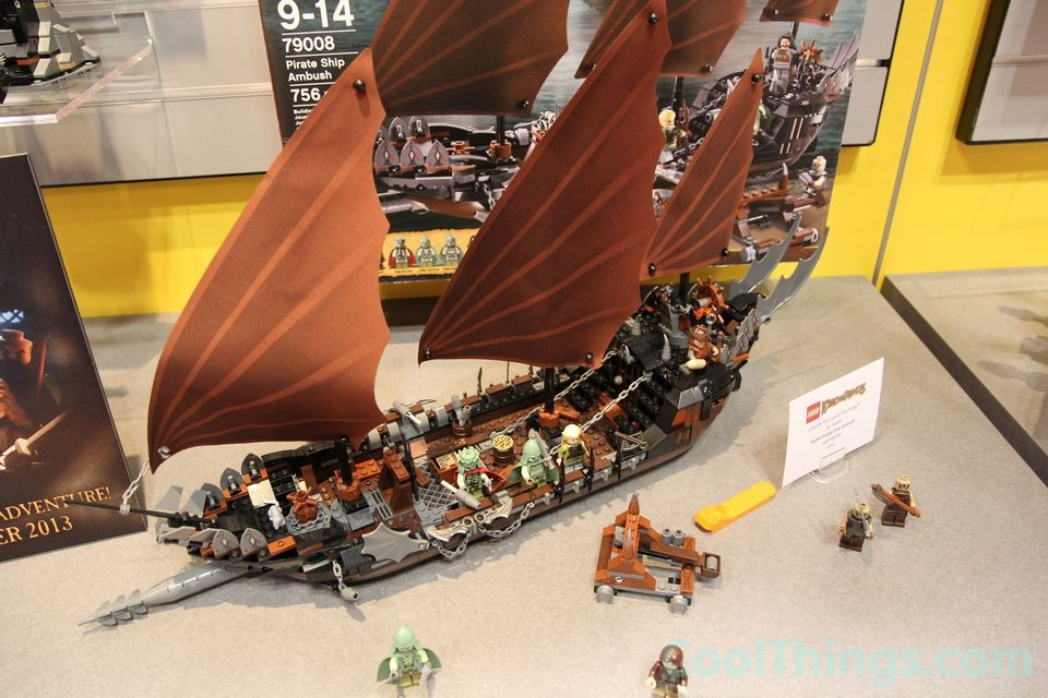 Lego Lord Of The Rings Pirate Ship Ambush Pics