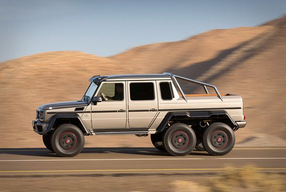 Upgrade Your Offroad Adventures With The Mercedes Benz G63
