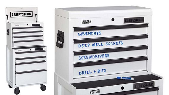 craftsman limited edition dry erase tool boxes