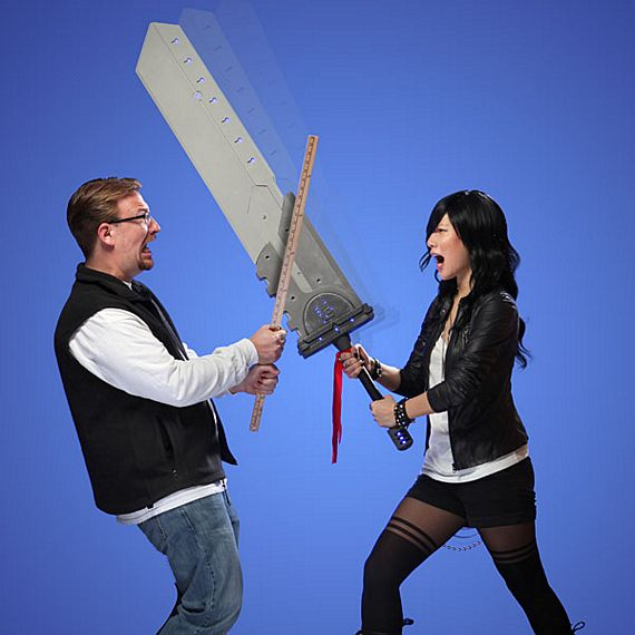 Everyone Deserves A Massive Cosplay Titan Sword
