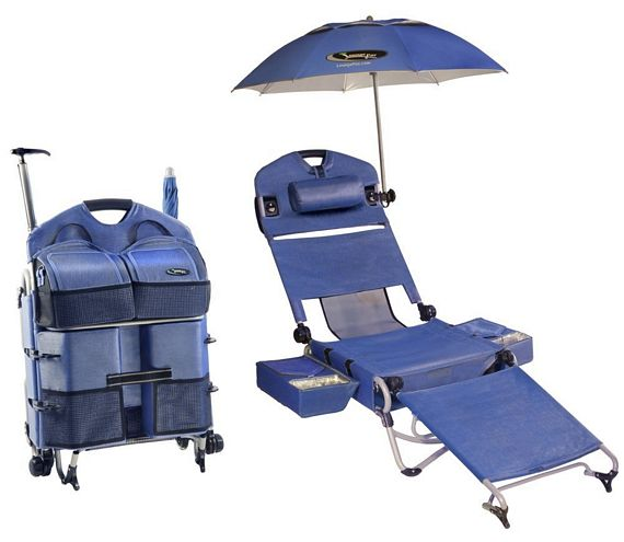 Just When You Thought Nobody Could Upstage Your Versatile All In One  Portable Chair When You Bring It To The Beach, Somebody Shows Up And  Dazzles You With ...