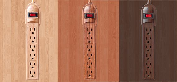Invisiplug Power Strips Blend In With Your Hardwood Floor