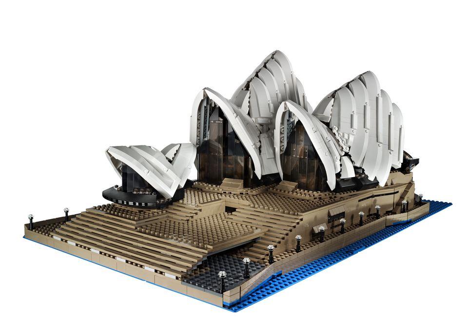 Lego Sydney Opera House Set 10234 Pics