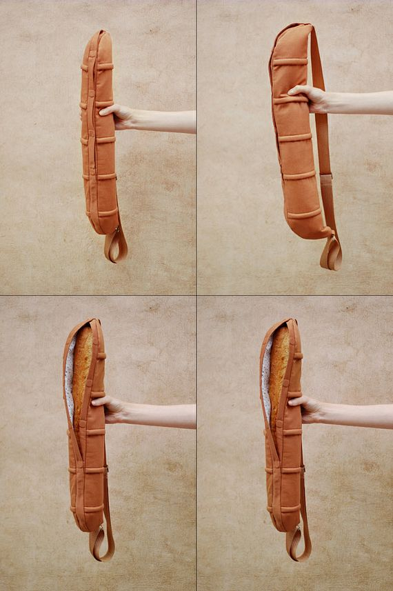 Baguette Bag Straps A French Loaf Across Your Back