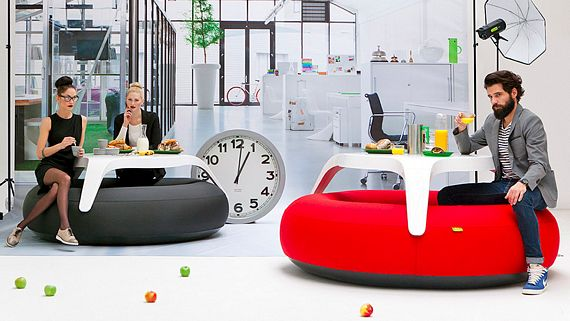 Blofield DoNuts Is An Inflatable Picnic Table - Inflatable picnic table