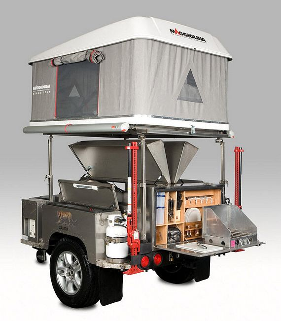 Campa All Terrain Trailer Brings Serious Amenities In A