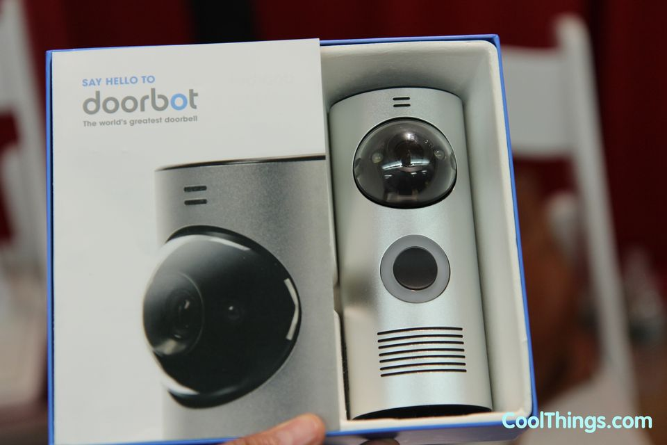 Doorbot Wireless Doorbell Streams Audio And Video