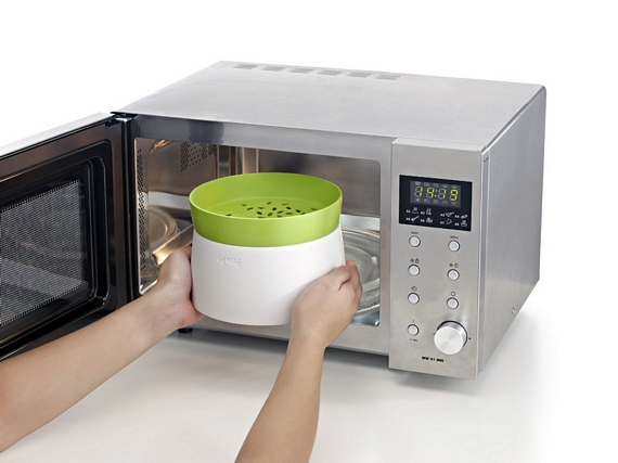Lekue Turns Your Microwave Into A Better Rice Cooker